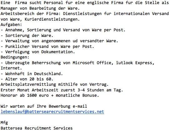 Job Angebote