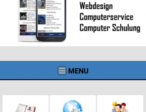 Android Firmen Info App erstellen lassen