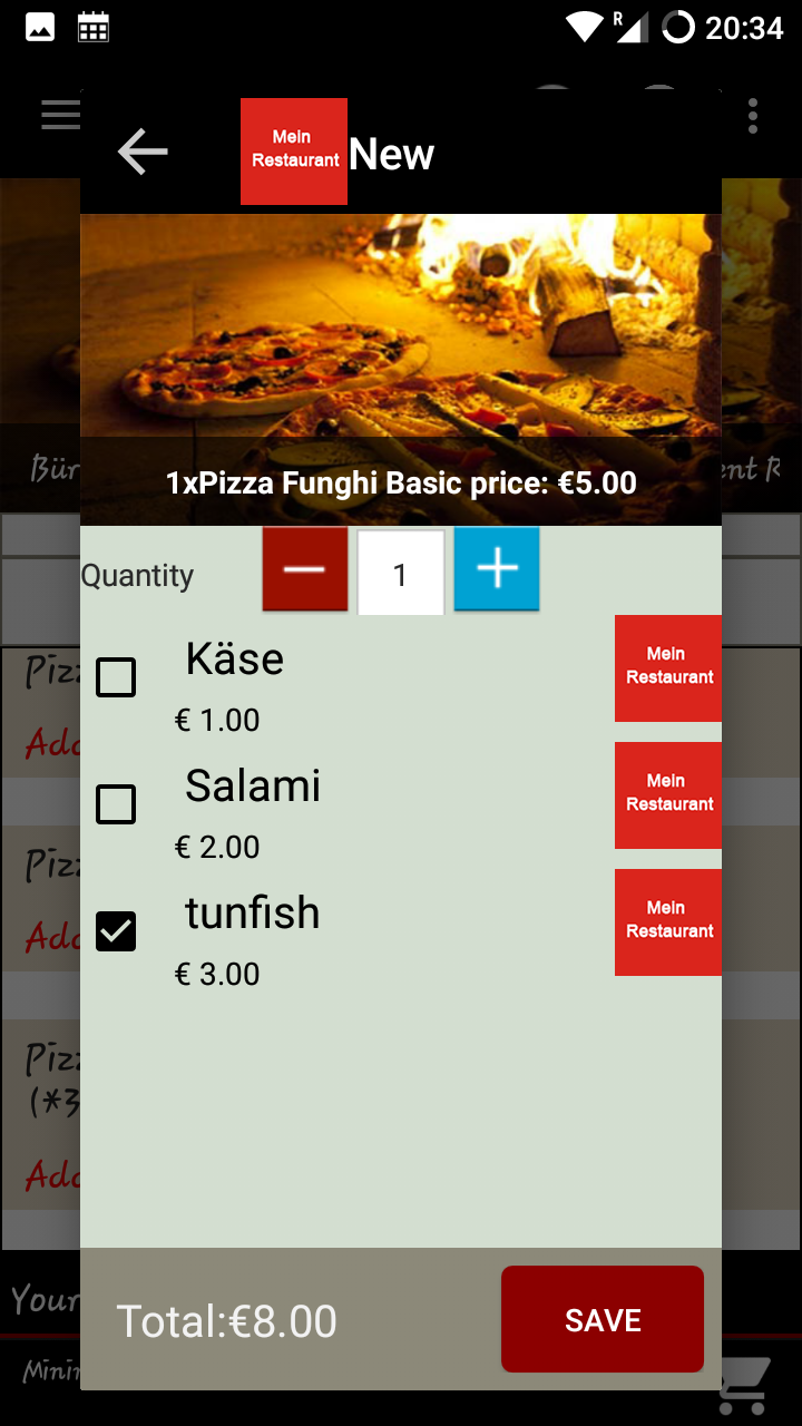 Food Order Android